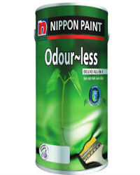 sơn nội thất nippon odour less deluxe all in 1