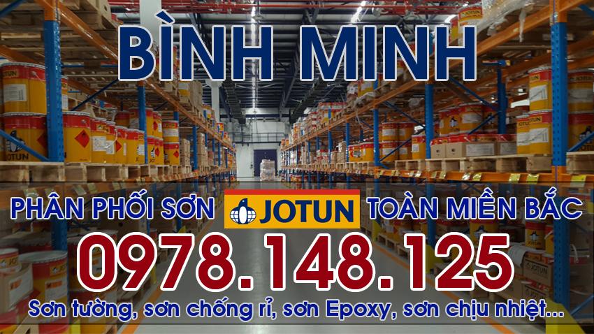 Đại lý sơn JOTUN chính hãng tại Thái Bình, Bình Minh