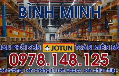 Đại lý sơn JOTUN chính hãng tại Thanh Hóa, Bình Minh