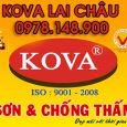 Đại lý sơn KOVA chính hãng tại Lai Châu Bình Minh Hà Nội