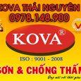 Đại lý sơn KOVA chính hãng tại Thái Nguyên 0978148900
