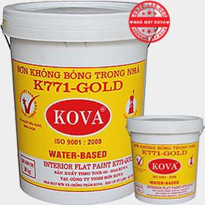 Sơn KOVA K771 - Sơn mịn trong nhà giá rẻ chính hãng KOVA