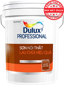 sơn dulux Professional Diamon lau chùi hiệu quả