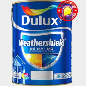 sơn Dulux Weathershield bề mặt mờ chính hãng - Dulux BJ8