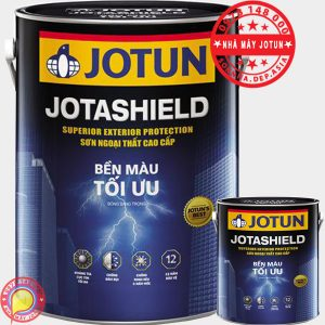Sơn JOTUN Jotashield - Sơn JOTUN ngoài nhà bền màu tối ưu chính hãng