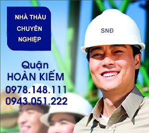 nhận sơn nhà tại Hoàn Kiếm - Hà Nội