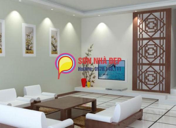sơn phòng khách theo phong thủy