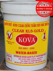 sơn phủ bóng KOVA CLEAR KL5 GOLD 224X300