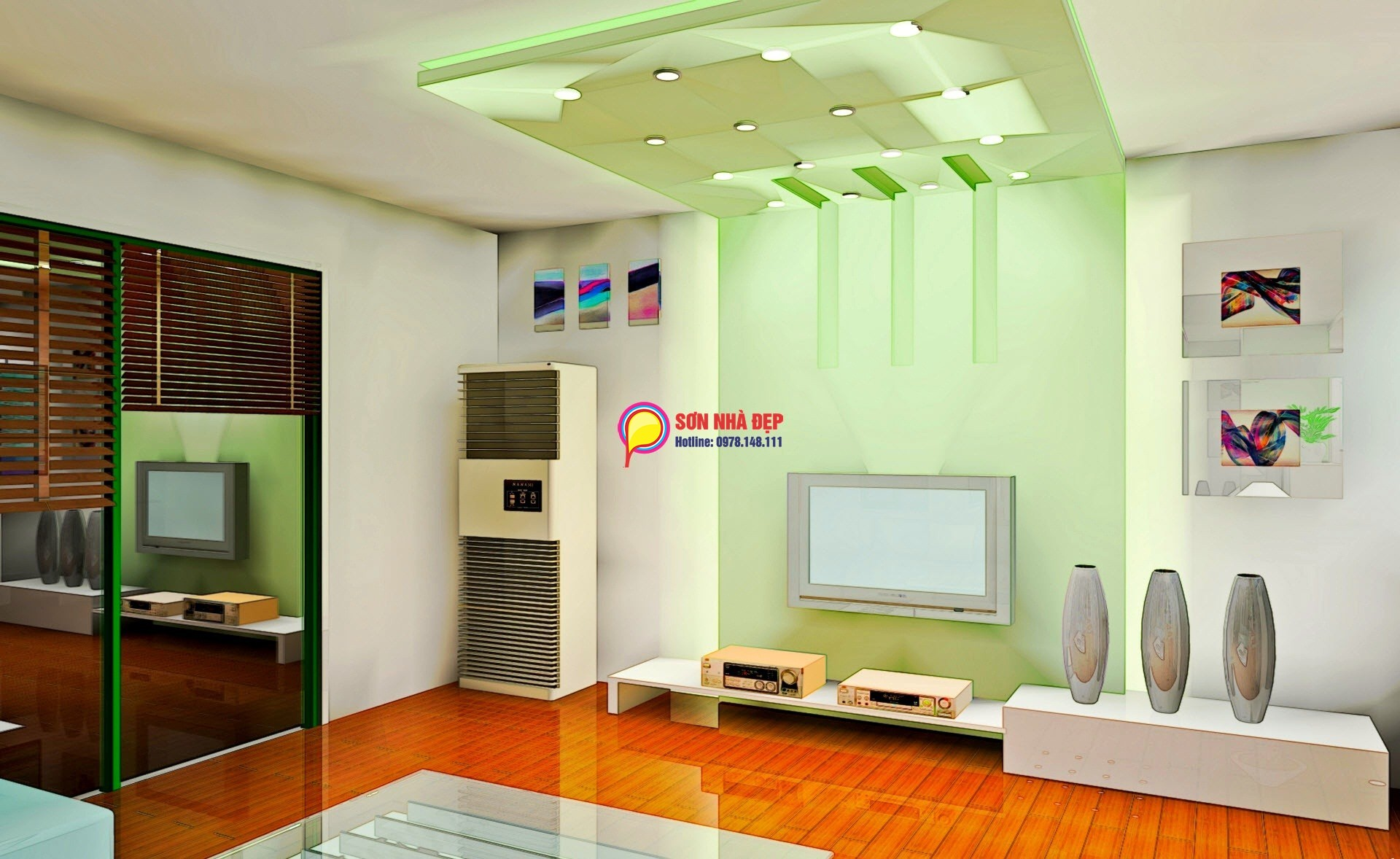 son-trong-nha-dulux- Ambiance- 5 in 1