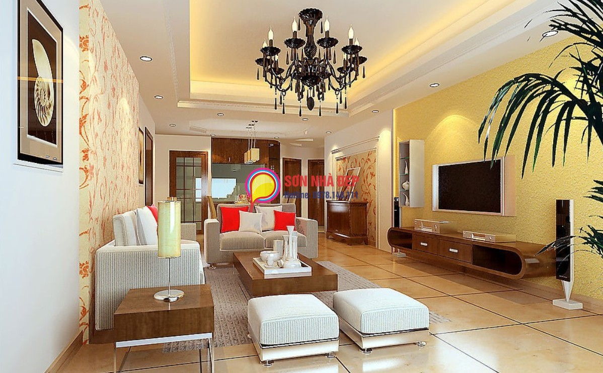 light yellow paint living room sơn nh 192 m 192 u v 192 ng nhạt v 192 ng đậm amp điểm nhấn quot c 193 t 205 nh quot 19054